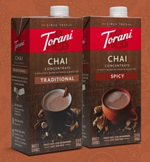 Torani Traditional Chai and Spicy Chai
