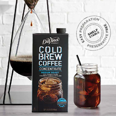 DaVinci Cold Brew Coffee Concentrate