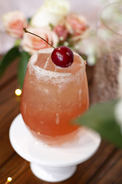 Elyse's Cherry on Top Fizzy Lemonade - February Lively Libations 2019