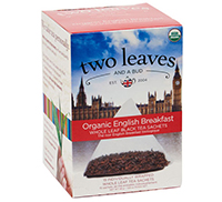 Two Leaves Organic English Breakfast Tea
