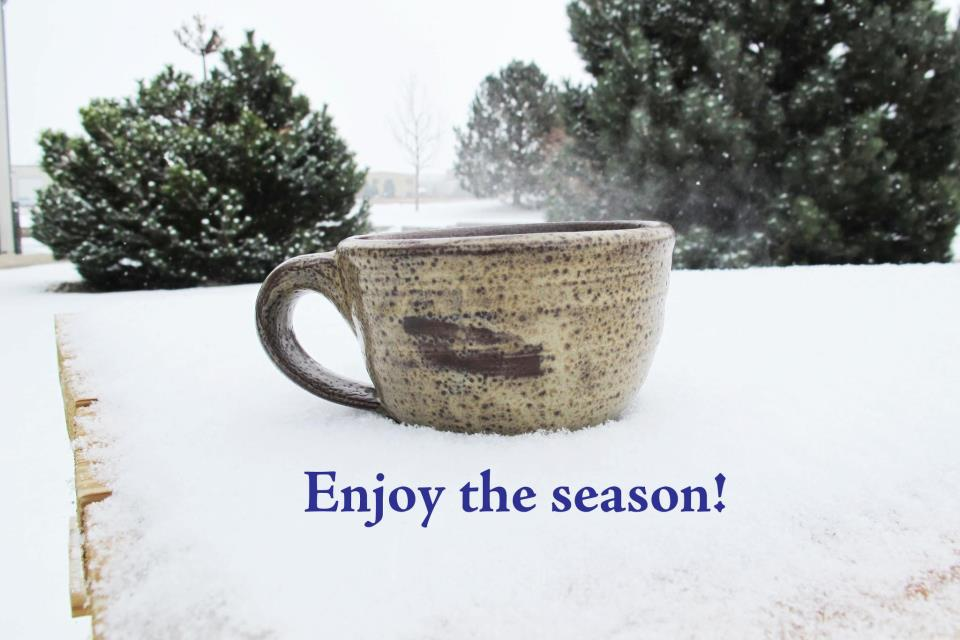 Enjoy the Season - Hot drinks and cold weather is the perfect combination