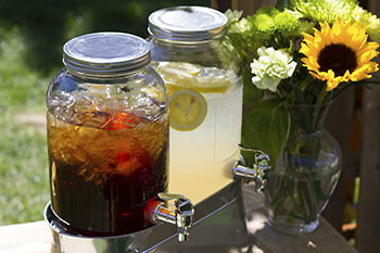 Island Rose Lemonade & Mighty Leaf Iced Tea