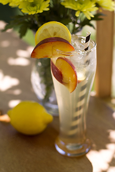 Elyse's Spicy Sweet Lemonade (Torani)