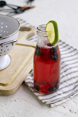 Lucy's Berry Limeade Soda