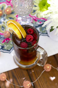 Lucia's Cold Brew Berry Sangria - July Lively Libations 2018