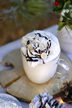 Lucy's Joyous White Hot Chocolate - January Lively Libations 2019