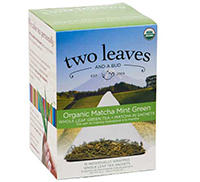 Two Leaves Organic Matcha Mint Green Tea
