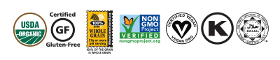 Modern Oats Organic Oatmeal Certifications