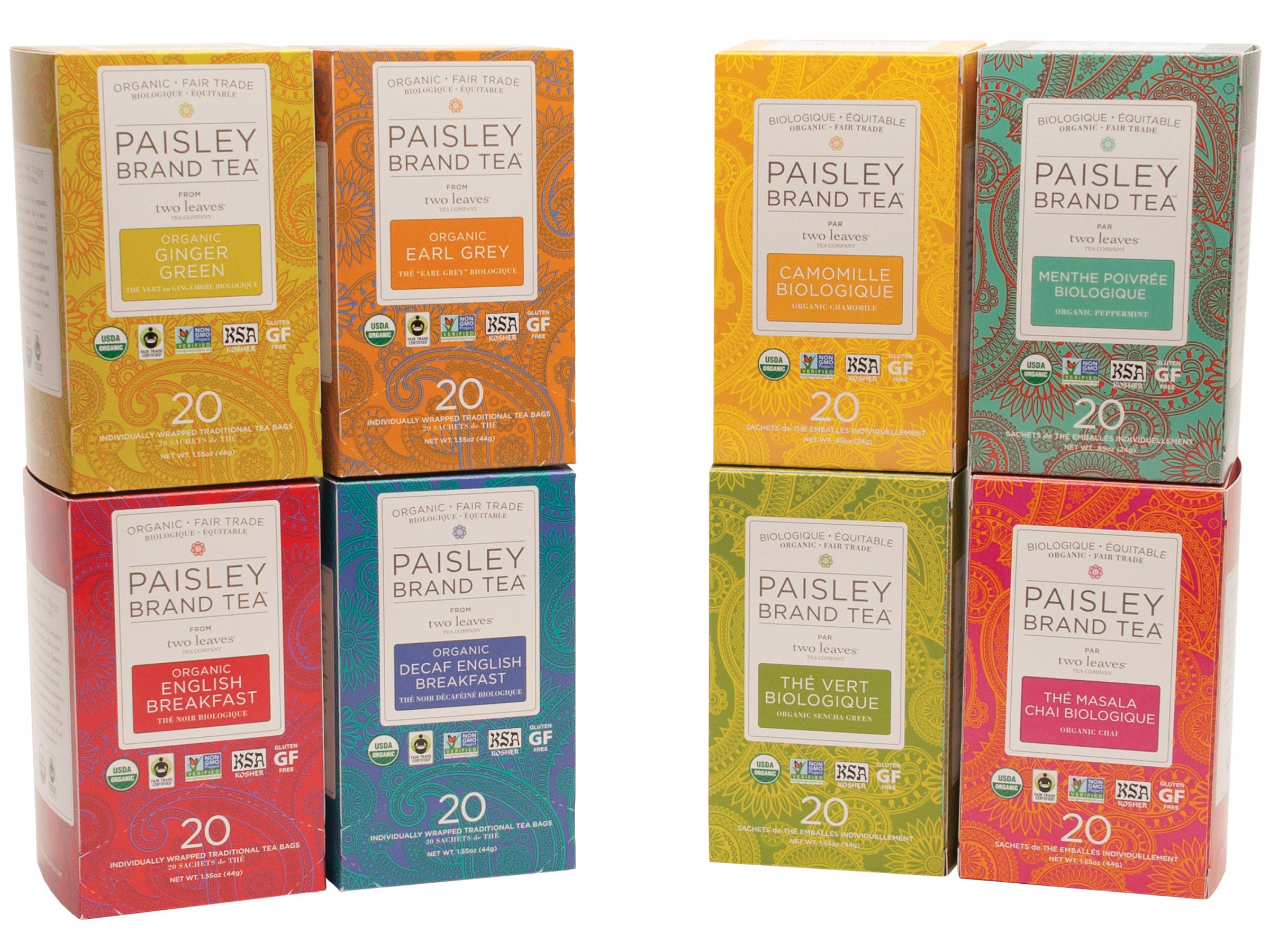 Coffee organic tea - Paisley Brand Tea