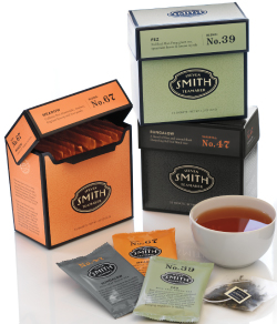 Smith Tea -- Offering exquisite blends of green, black and herbal tea