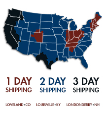 1-2-3 Day Shipping Zones