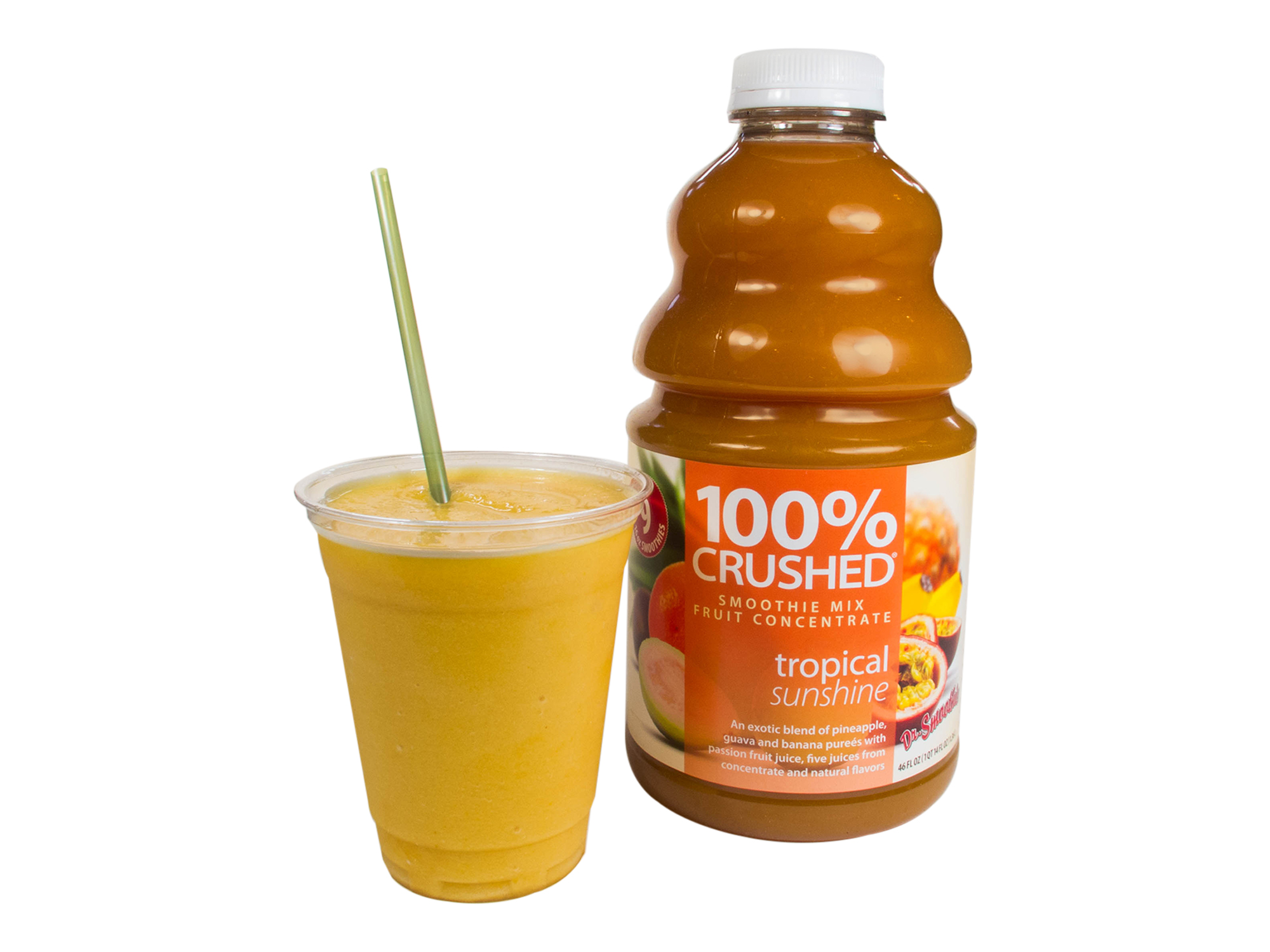 Dr. Smoothie - 100% Crushed Tropical Sunshine smoothie