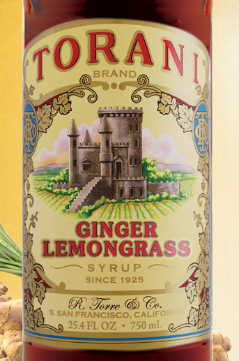 ALL NEW Torani Ginger Lemongrass Syrup