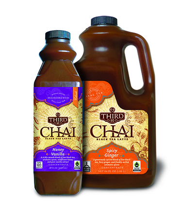 Third Street Chai Concentrate-Honey Vanilla and Spicy Ginger