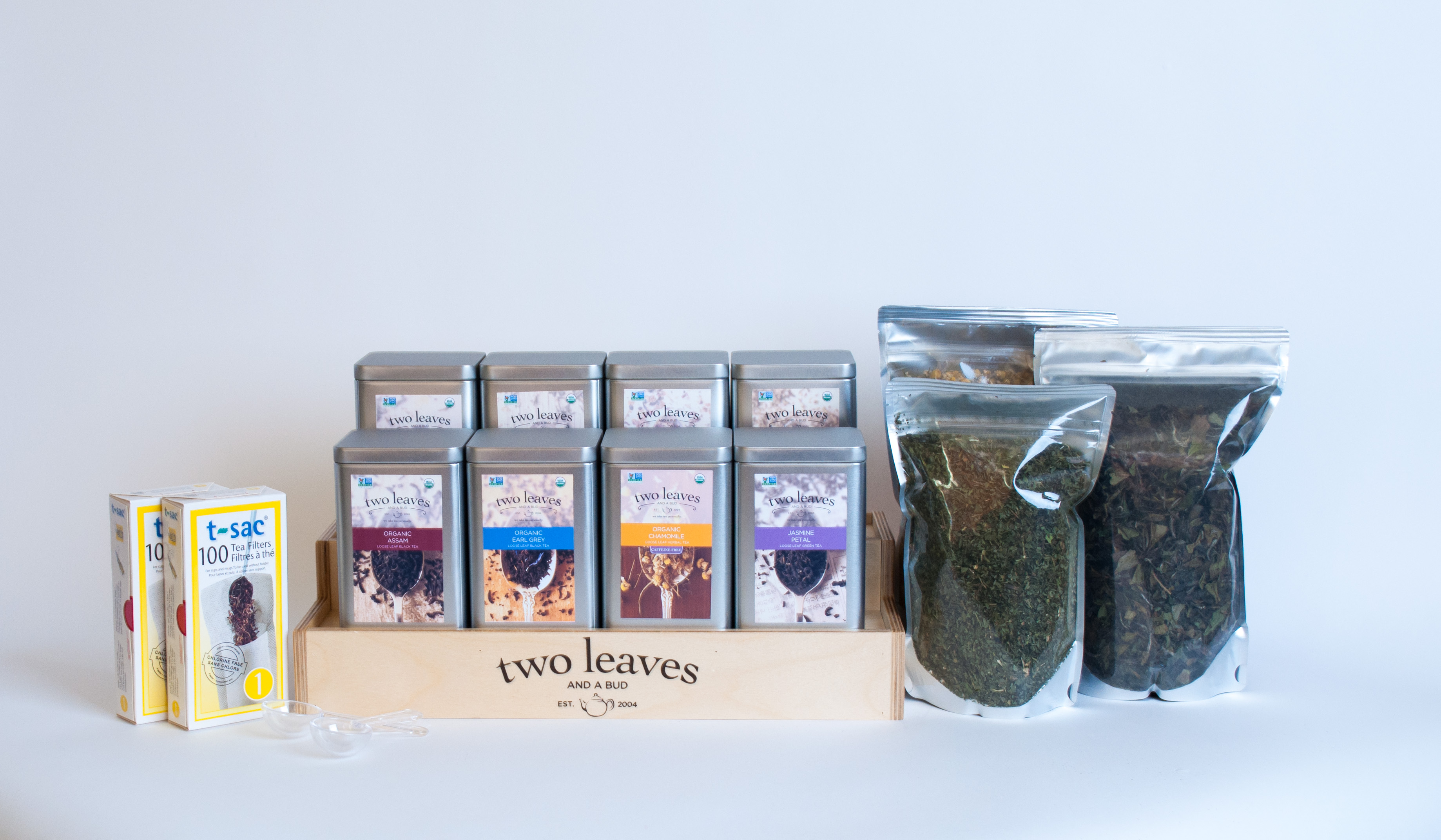 Introducing the Two Leaves and a Bud - Loose Tea Starter Kit at Barista Pro Shop