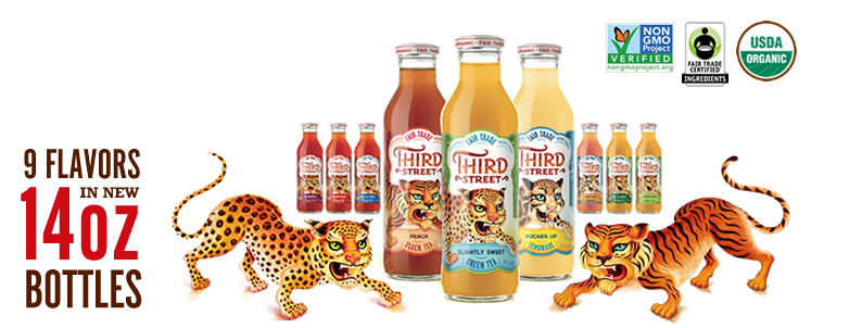 Introducing the All-New Organic and Fair Trade RTD Iced Teas from Third Street