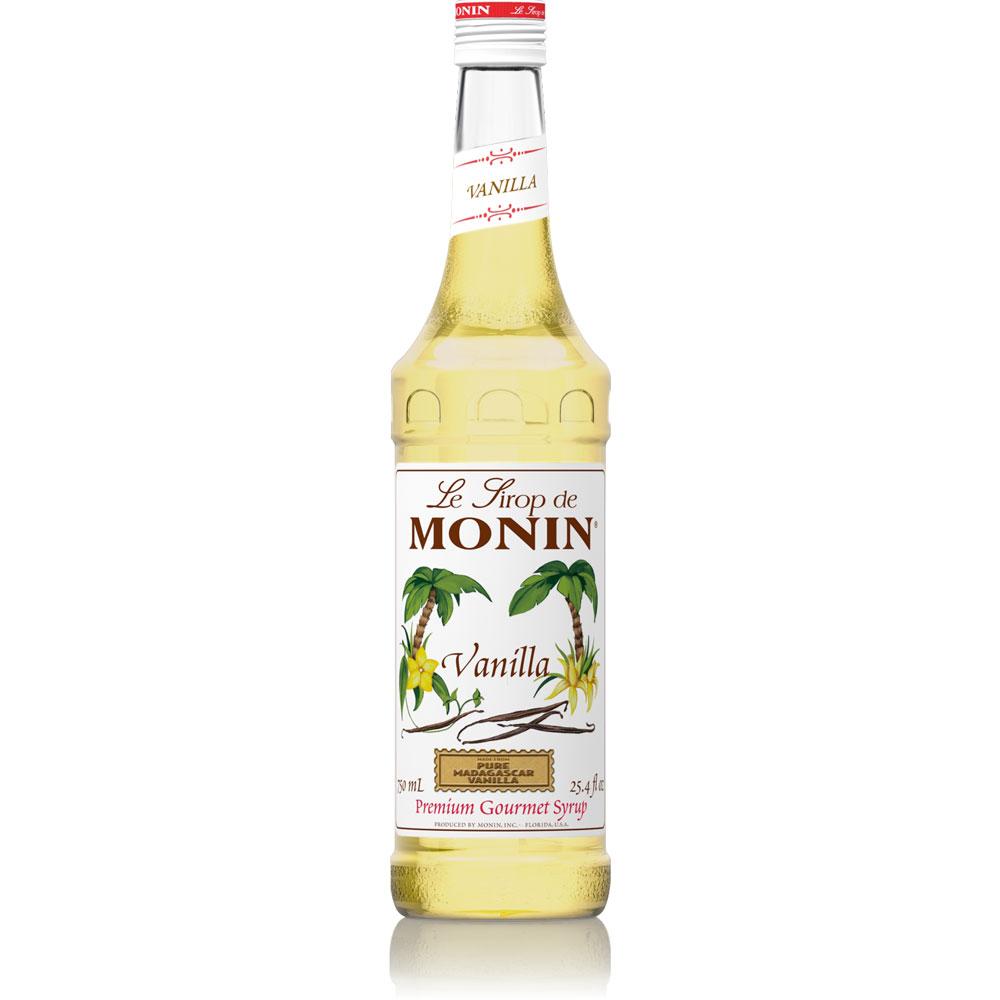 Monin Vanilla Syrup - 50 ml Bottle(s), 750 ml Bottle, 1