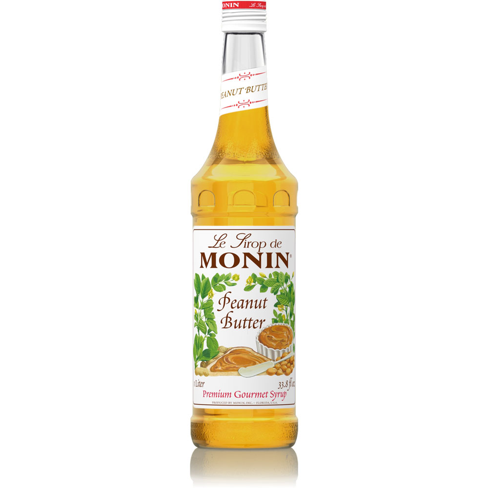 fbfc91b5866 Monin Peanut Butter Syrup - 750 ml Bottle(s)  BaristaProShop.com