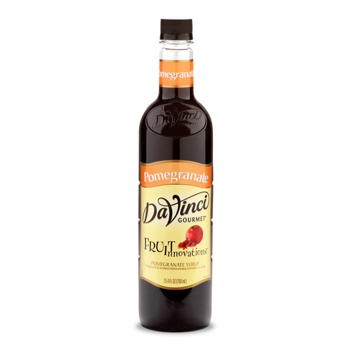 DaVinci Syrups Fruit Innovations Pomegranate Syrup - 750 ml Bottle(s ...