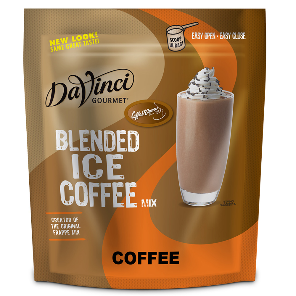 Blended Iced Coffee Powders Klinning Green Blend Caffe Damore Davinci Ice Mix Formerly Cda