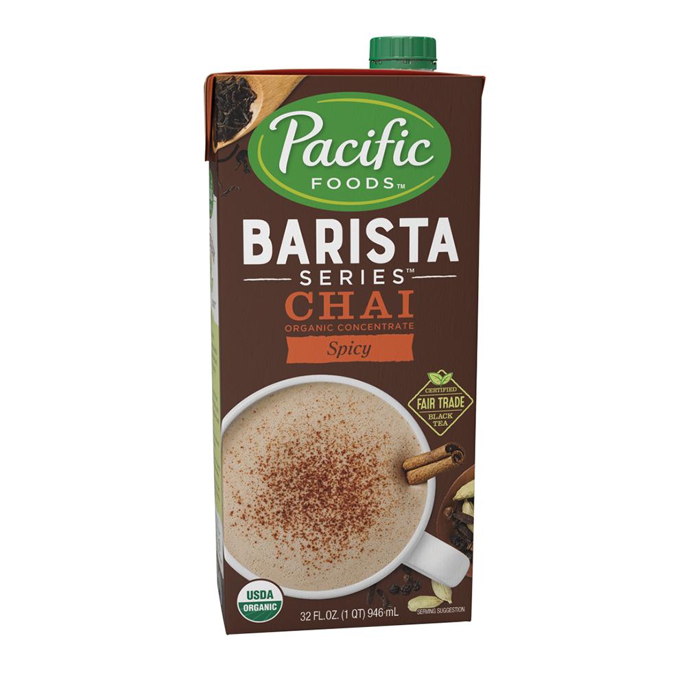 ... Barista Series Organic Spicy Chai Latte - Quart(s): BaristaProShop.com