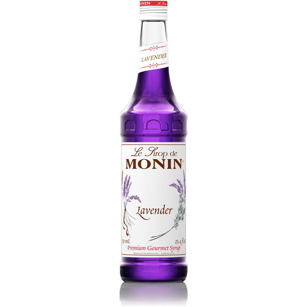 Monin Lavender Syrup - 750 ml Bottle: BaristaProShop.com