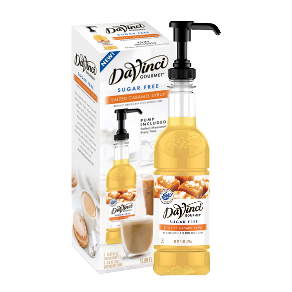 DaVinci Syrups Sugar Free Salted