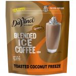 Caffe D'Amore DaVinci Gourmet Toasted Coconut Freeze Blended Ice Coffee (Formerly CDA)