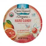 Torie & Howard Grapefruit & Honey Organic Hard Candy