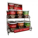 Earnest Eats Hot Cereal Display Rack