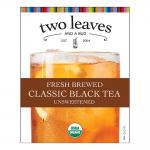 Two Leaves and a Bud Black Iced Tea Cling(s)