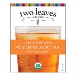 Two Leaves and a Bud Peach Black Iced Tea Cling(s)