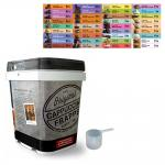 Cappuccine Tub Kit(s) for 48 cc Scoop Products (includes tub, lid, scoop and label) | Classic Spiced Chai Latte