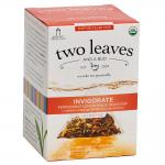 Two Leaves and a Bud Invigorate - Peppermint/Lemon Mood Booster Tea