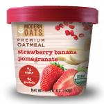 Modern Oats Organic Strawberry Banana Pomegranate Oatmeal