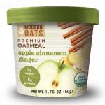 Modern Oats Organic Apple Cinnamon Ginger Oatmeal