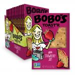 Bobo's Oat Bars Strawberry Jam Toast'r Pastry