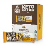 Munk Pack Peanut Butter Dark Chocolate Nut & Seed Bar