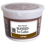 Big Train Big Train | Tub Kit(s) for Caramel Blended Iced Coffee  (Includes tub, lid, sticker and 60 cc scoop)