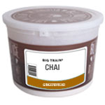 Big Train Big Train | Tub Kit(s) for Gingerbread Chai  (Includes tub, lid, sticker and 48 cc scoop)